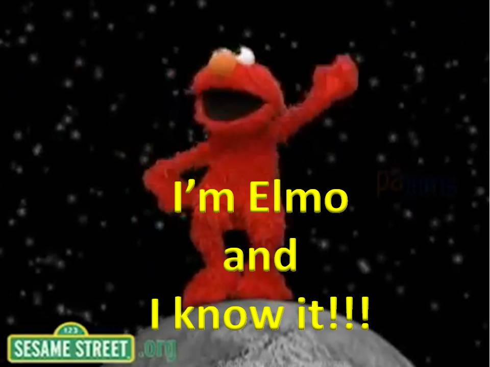 Elmo sexy and i know it picture 70