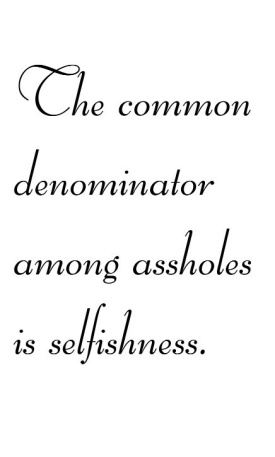 selfishassholes