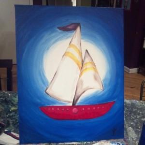 Jen's painting